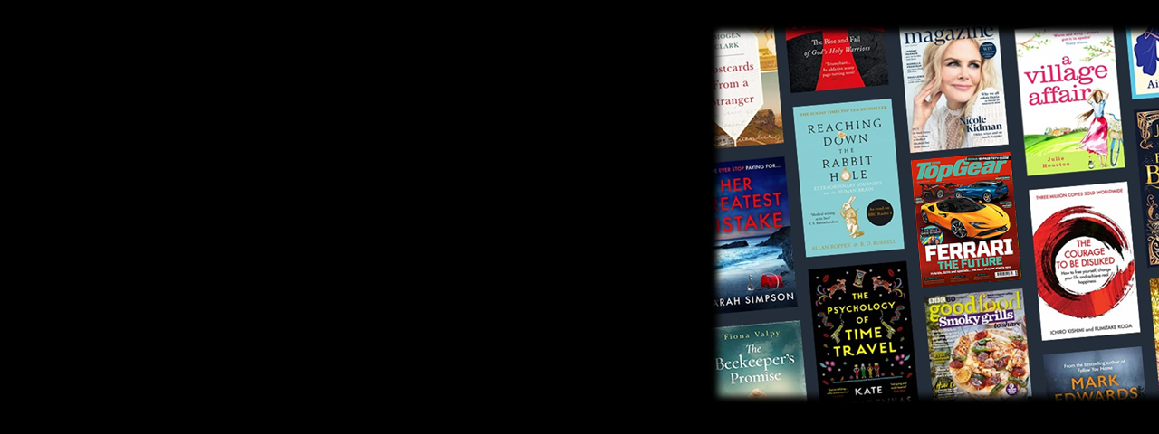 Kindle Unlimited - Digital subscriptions page image