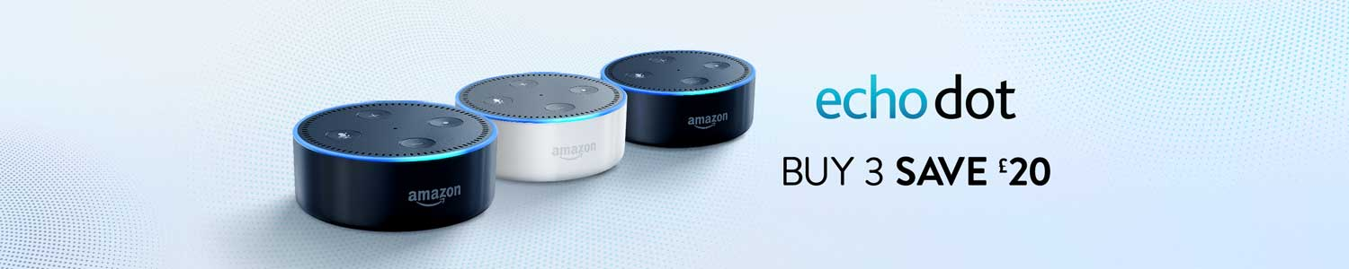 Echo Dot - Buy 3 and save £20