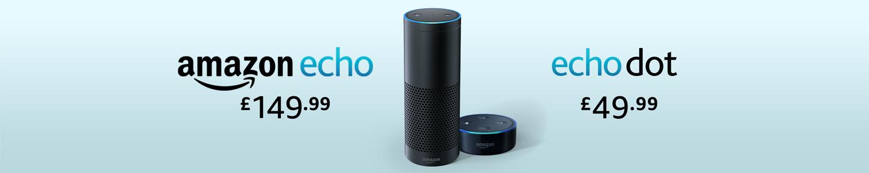 Amazon Echo and Echo Dot