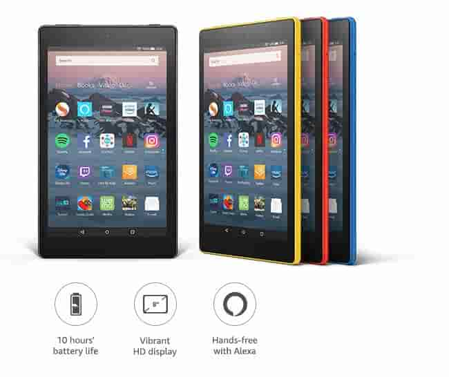 All-new Fire HD 8 hands-free with Alexa