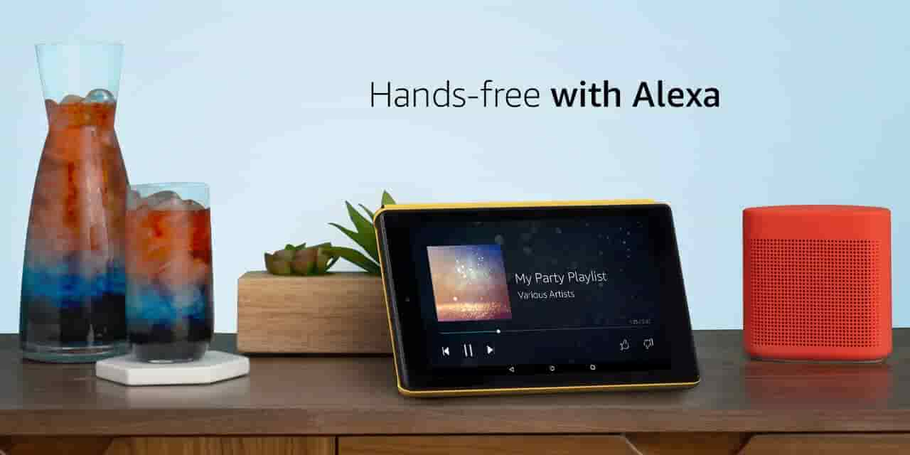 Now with Alexa hands-free