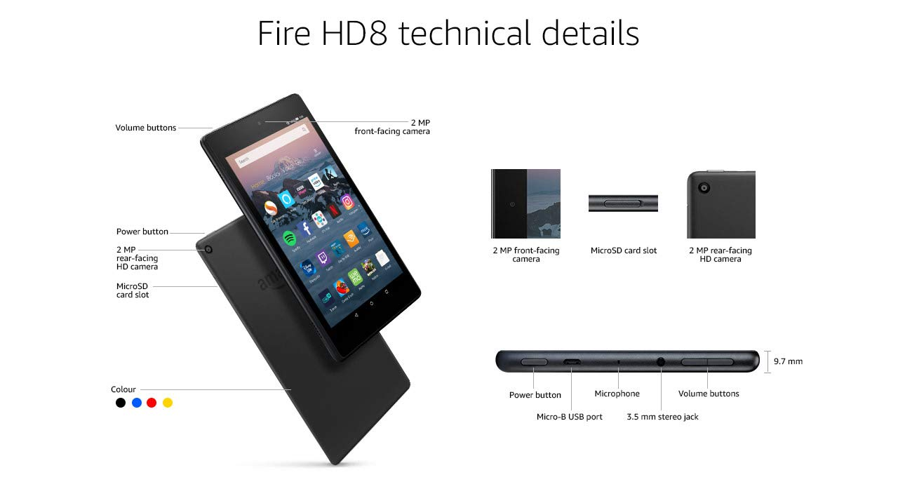 Fire Hd 8 Tablet With Alexa Show Mode Charging Dock