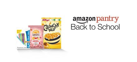 Amazon Pantry Back to School