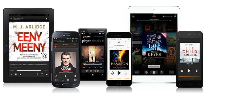 For busy who like to read, Audible's audiobook service may seem like an necessity.