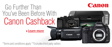 Canon Cashback Promo