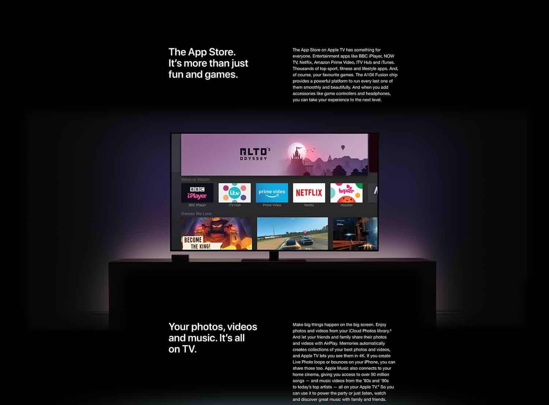 Apple Tv 4k 64gb Latest Model Amazon Co Uk Amazon Devices