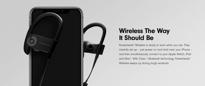 09cd1ebe625 Powerbeats3 Wireless Earphones - Black: Amazon.co.uk