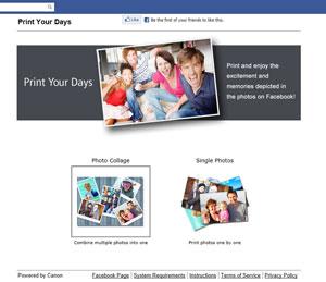 Print Your Days App