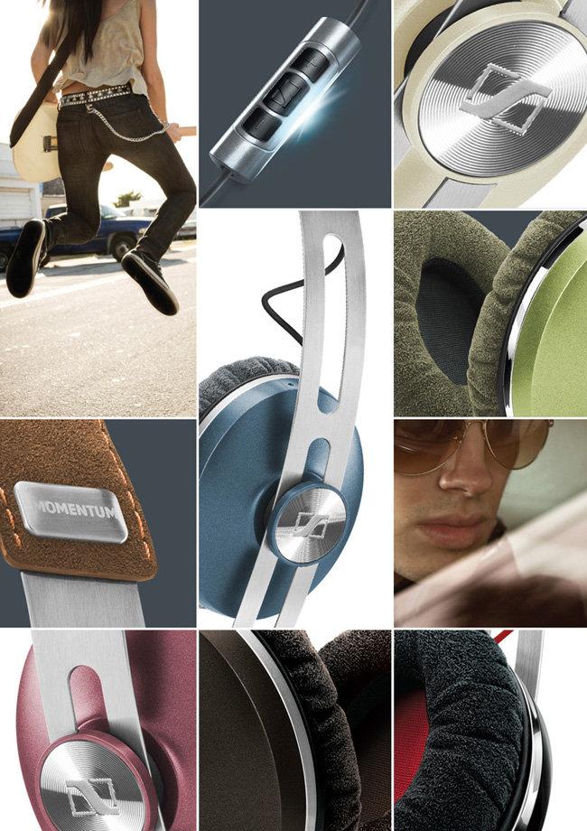 Amazon Com Sennheiser Momentum On Ear Headphone Green