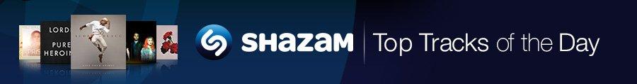 Shazam Top Tracks