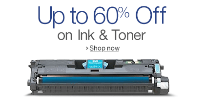 Up to 60% off on Ink & Toner