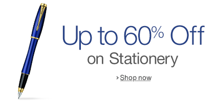 Up to 60% off on Stationery