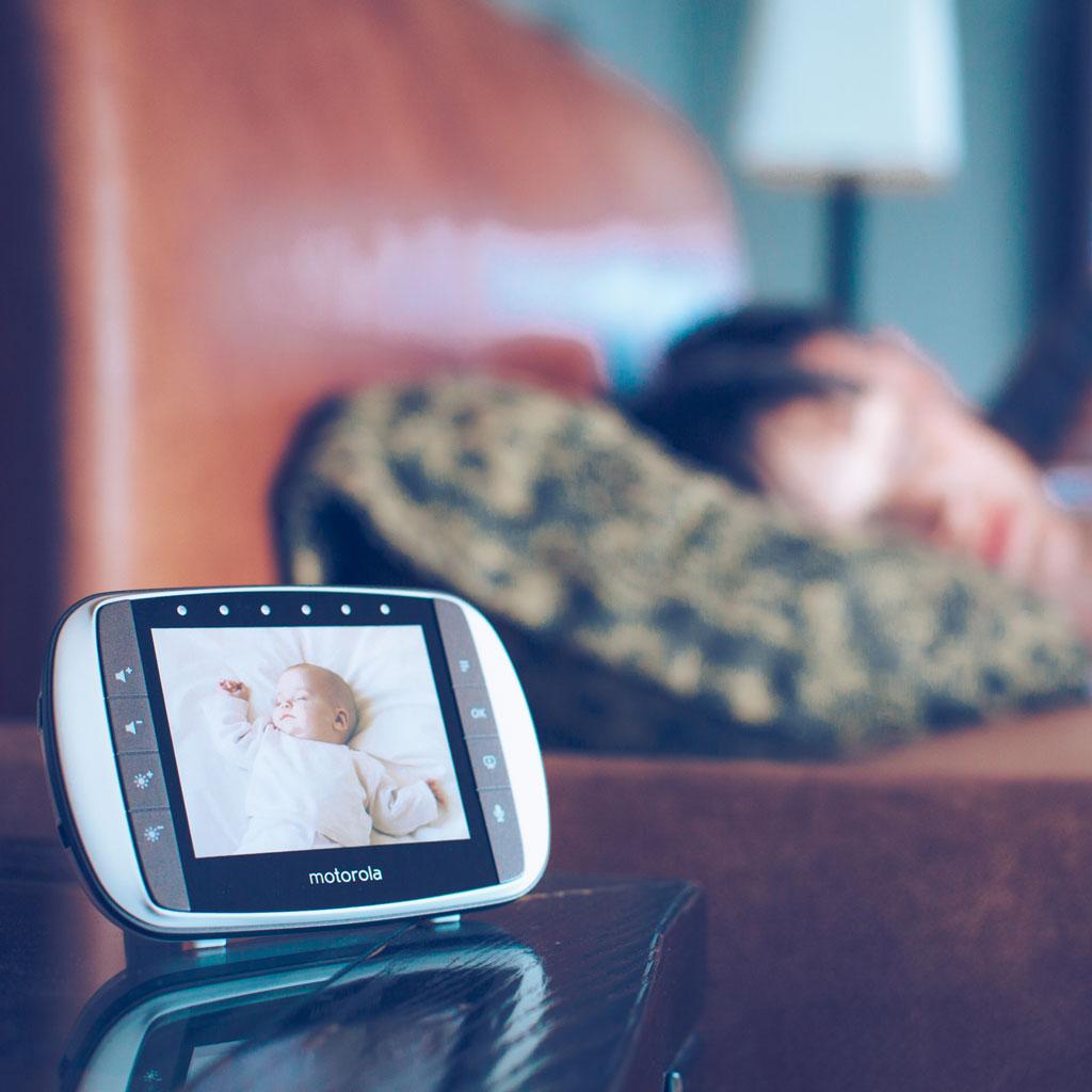 motorola mbp36s digital video monitor 3 5 colour lcd display baby. Black Bedroom Furniture Sets. Home Design Ideas