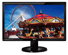 BenQ GL2450HM 24 inch Widescreen LED Multimedia Monitor