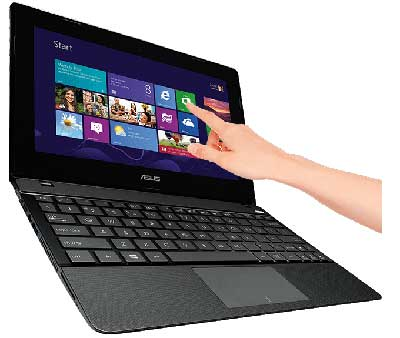 Asus X102B 10.1-inch Touchscreen Laptop (Black) - (AMD A4