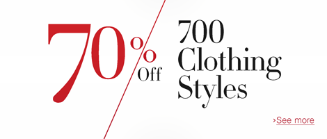 70% off 700 Clothing Styles from Amazon UK