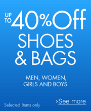 Up to 40% off summer fashion