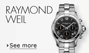Raymond Weil Swiss made watches