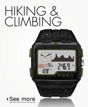 Hiking and climbing watches