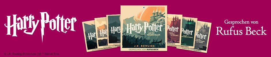 Harry Potter gesprochen von Rufus Beck