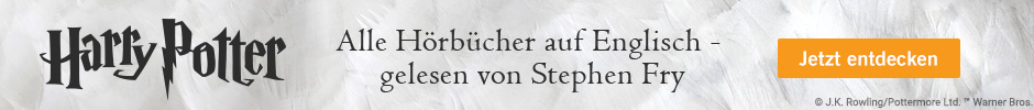 Alle Hörbücher auf Englisch - gelesen von Stephen Fry jetzt entdecken