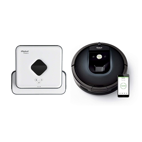 iRobot Highlights: Roomba 981 und Braava 390T