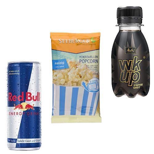 Bis zu 25% reduziert: Snacks und Erfrischungsgetränke