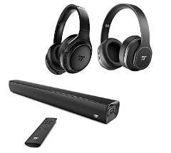 Bis zu 32% reduziert: TaoTronics Bluetooth Kopfhörer & Soundbars