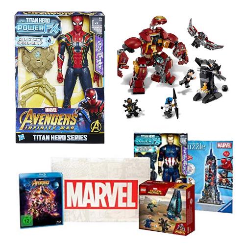 Bis zu 40% auf Marvel Spielzeug
