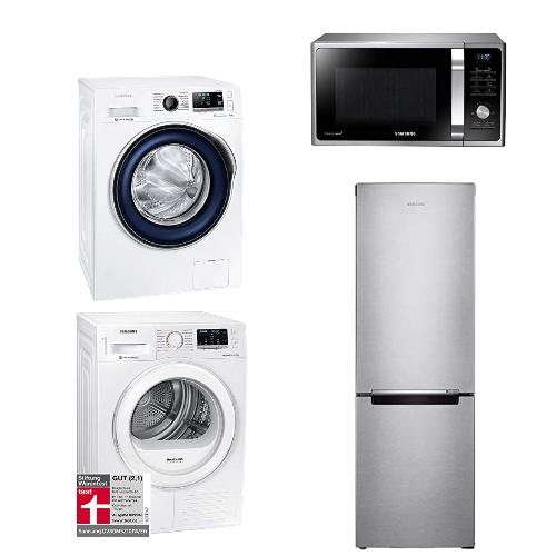 Bis zu 114 EUR Sofort-Rabatt: Samsung Haushaltsgeräte