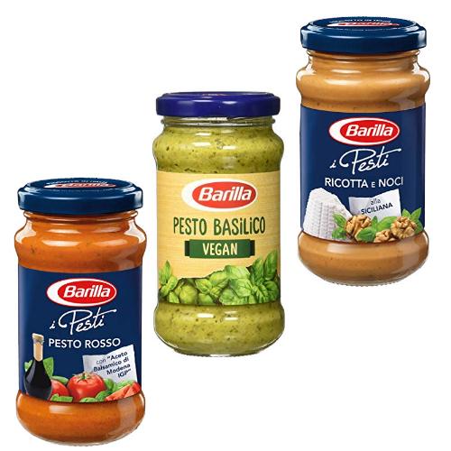 Bis zu 38% reduziert: Barilla Pesto bei Amazon Pantry