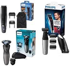 Bis zu 49% reduziert: Philips Rasierer, Trimmer, Haarschneider & Zubehör