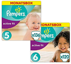 35% reduziert: Pampers Active Fit