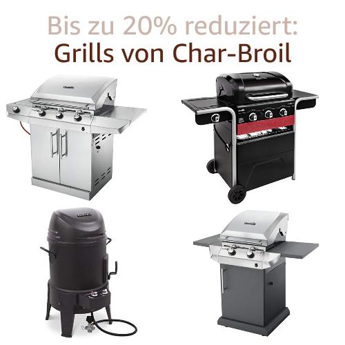 Bis zu -30%: Auf Grills von Char-Broil