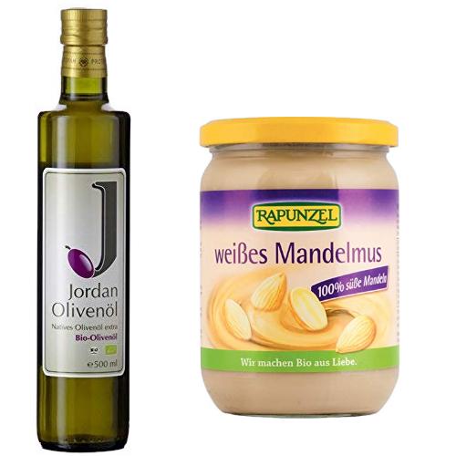 Bis zu 15% reduziert: Olivenöl und Aufstriche in Bioqualität von Jordan und Rapunzel
