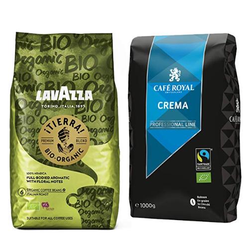 Bis zu 15% reduziert: Bio-Kaffee von Lavazza und Café Royal