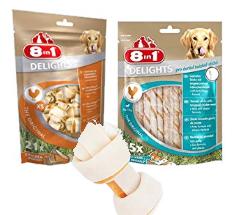 Bis zu 40% reduziert: 8in1 Hundesnacks
