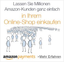 Ermöglichen Sie Millionen Amazon-Kunden auf Ihrer Seite einzukaufen