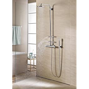 grohe rainshower f series 254 brause und duschsysteme. Black Bedroom Furniture Sets. Home Design Ideas