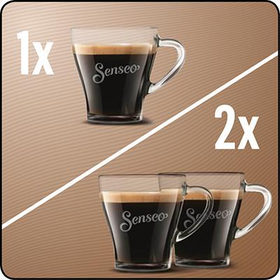 philips senseo hd7829 60 viva caf kaffeepadmaschine kaffee boost technologie schwarz. Black Bedroom Furniture Sets. Home Design Ideas