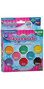 Aquabeads Glitzerperlen Nachfüllen