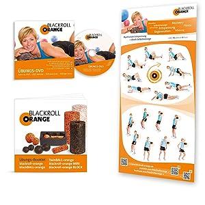 Faszien Training DVD, Trainingsposter und Übungen Booklet