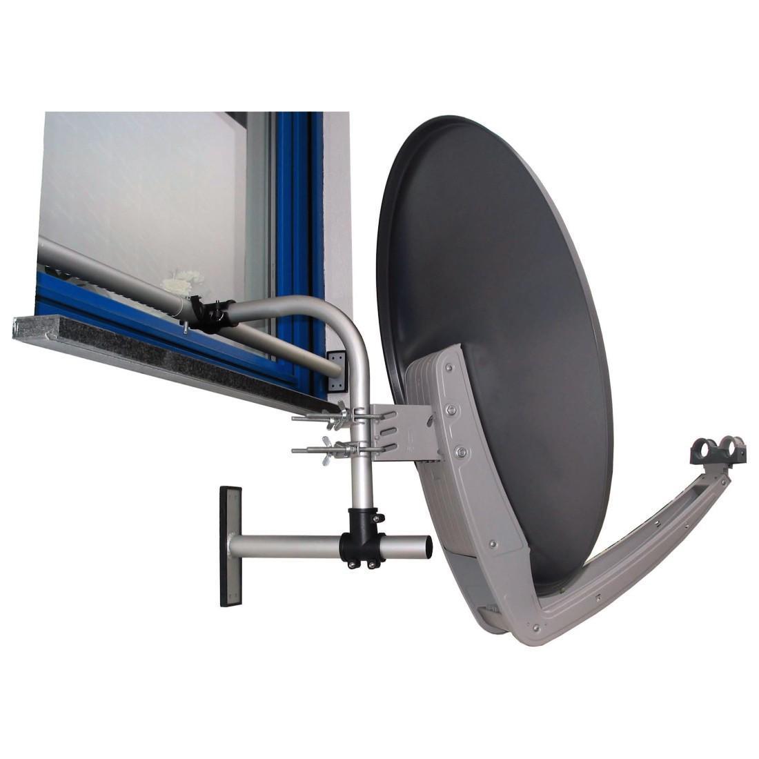 hama fensterhalterung easy mount f r sat spiegel elektronik. Black Bedroom Furniture Sets. Home Design Ideas