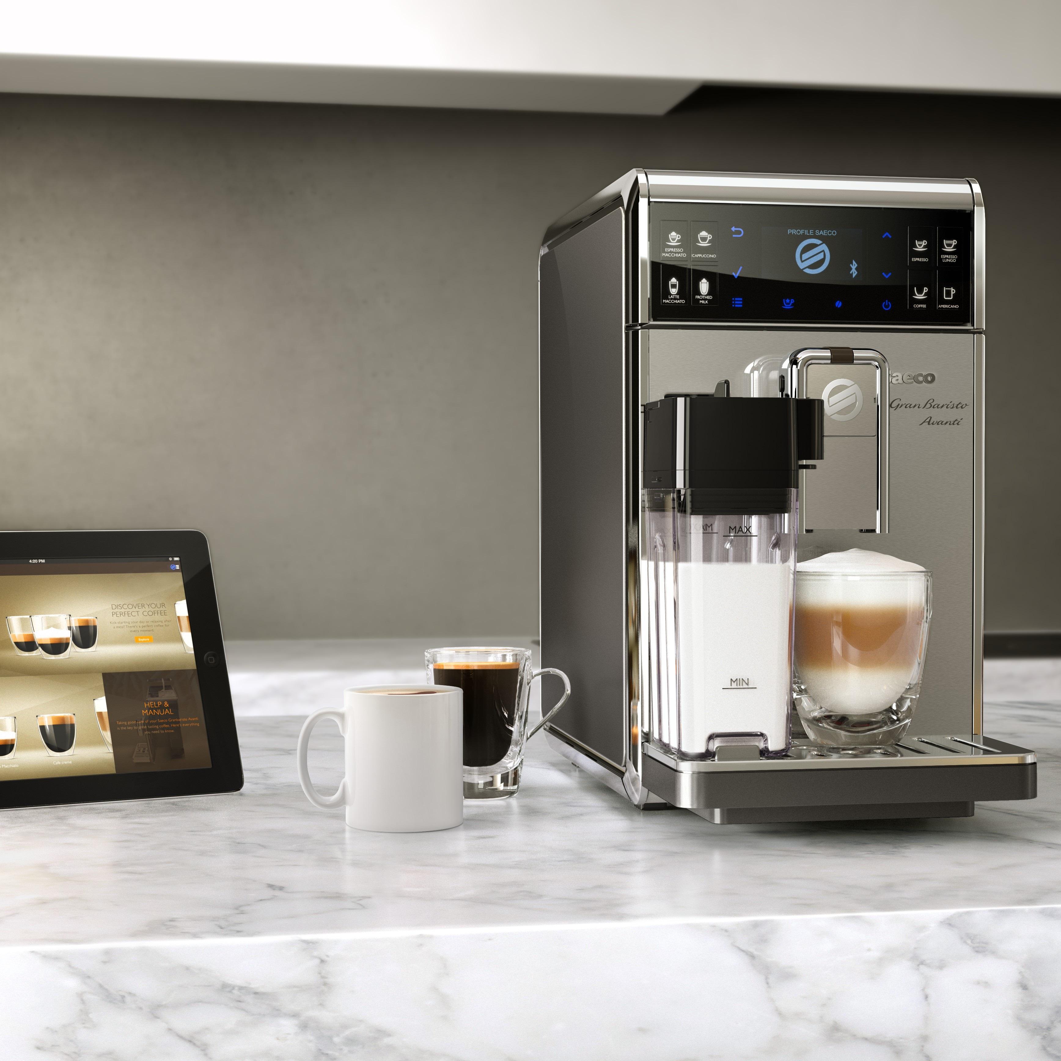 selten benutzter saeco granbaristo avanti hd 8967 01 kaffeevollautomat 8710103646723 ebay. Black Bedroom Furniture Sets. Home Design Ideas