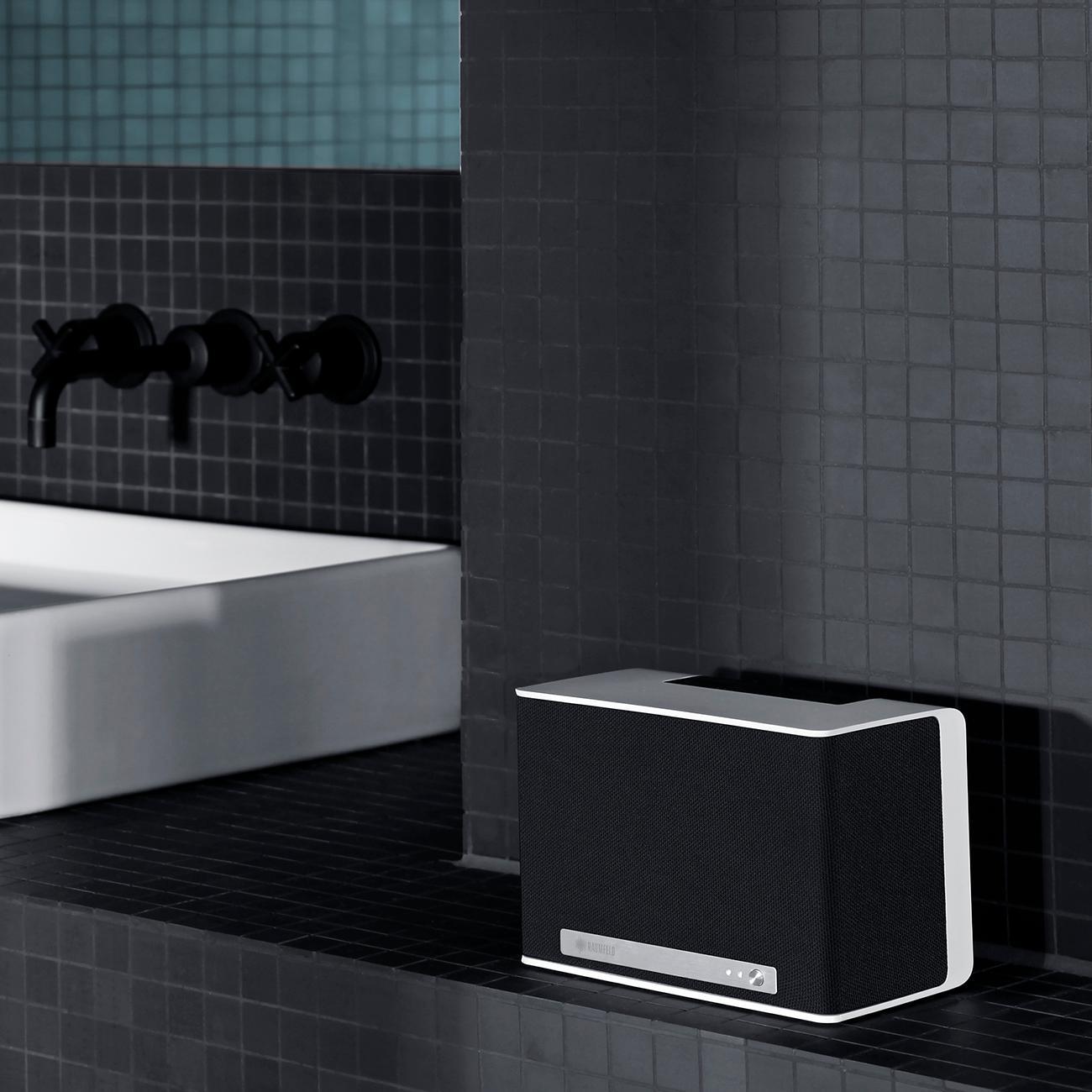 raumfeld one s mini wlan lautsprecher wei streaming. Black Bedroom Furniture Sets. Home Design Ideas