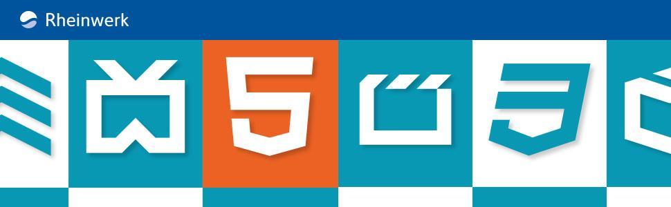 Cover HTML 5 und CSS3 Handbuch - Rheinwerk Verlag