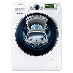 samsung ww12k8402ow eg waschmaschine fl a 141 kwh jahr 1400 upm 12 kg add wash wifi smart. Black Bedroom Furniture Sets. Home Design Ideas