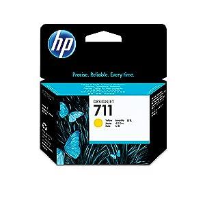 Hp 711 Gelb Original Druckerpatrone 29 Ml Für Hp Designjet One Size Bürobedarf Schreibwaren