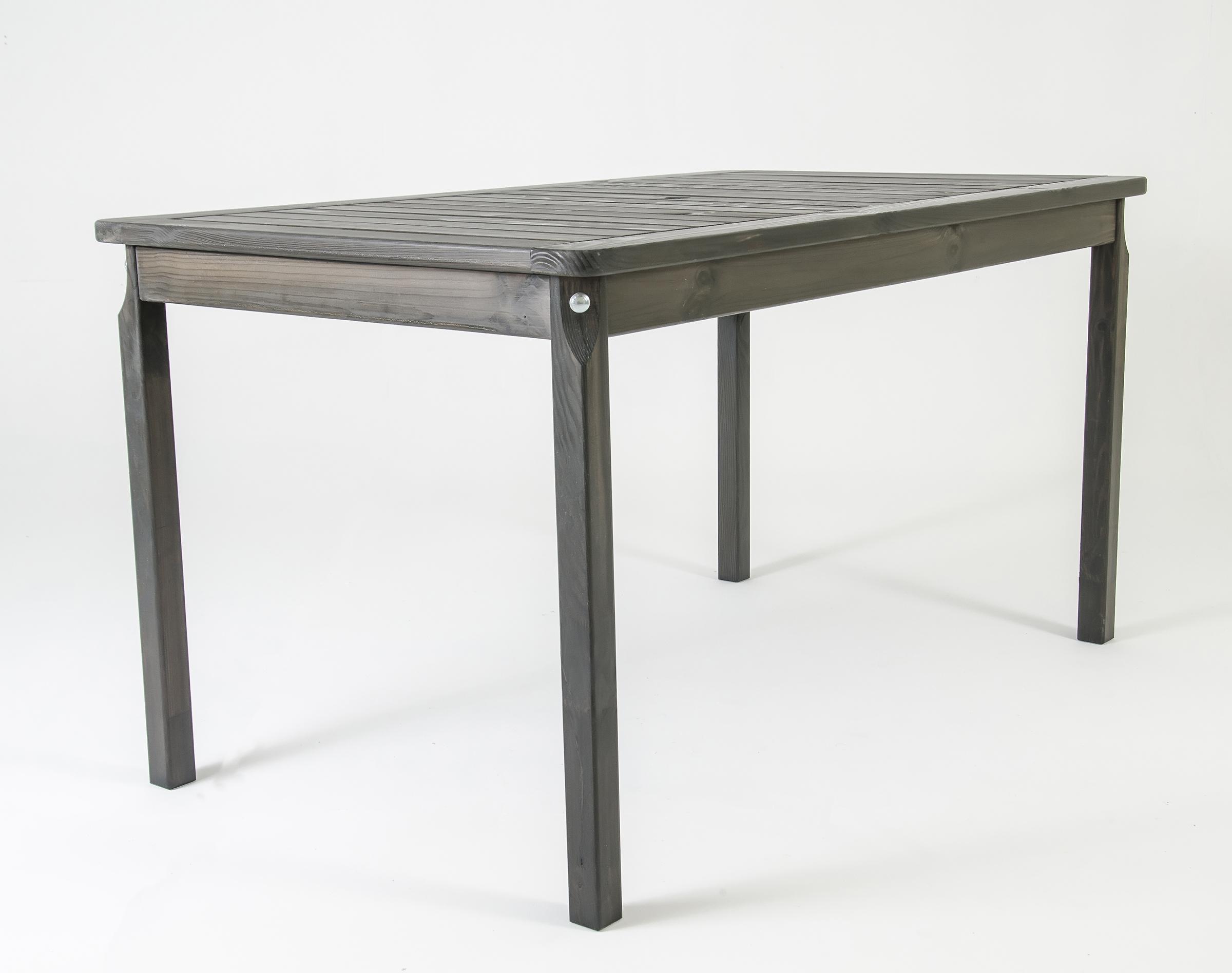 Ambientehome Gartentisch Tisch Massivholz Esstisch Evje