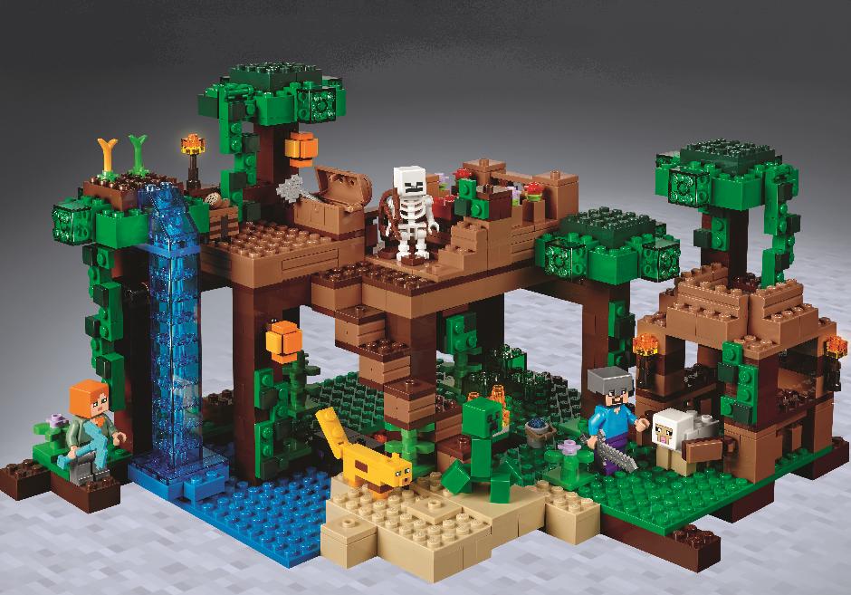 LEGO Minecraft 21125 - Das Dschungel-Baumhaus: Amazon.de